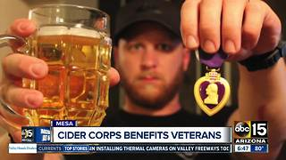 Brothers launch mission to help veterans through Mesa cider business - Video