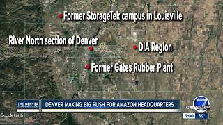 Denver narrowing down location for Amazon - Video