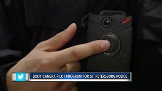 St. Pete Police will test body cameras for one month - Video