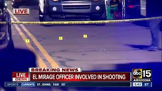El Mirage officer involved in deadly Youngtown shooting - Video