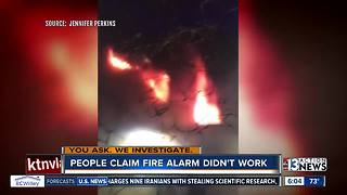 Alarm questions swirl after fast-moving fire - Video
