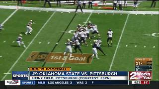 Oklahoma State demolishes Pittsburgh, 59-21 - Video