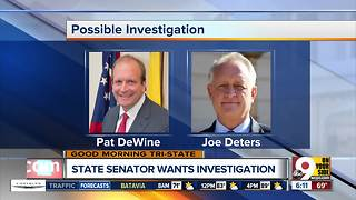 State senator calls for investigation of Prosecutor Joe Deters, Supreme Court Justice Pat DeWine - Video