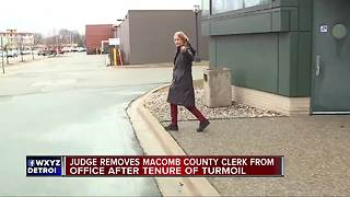 Timeline of Karen Spranger-s term as Macomb County Clerk