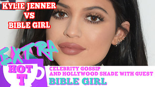 Kylie Jenner vs. Bible Girl LIP BATTLE!: Extra Hot T with Bible Girl - Video