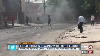 unrest in Haiti has Naples-based nonprofit group sheltering in place - Video