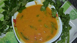 INDIAN FOOD - South indian style  SAMBAR - Video
