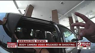 Body camera video released in shooting