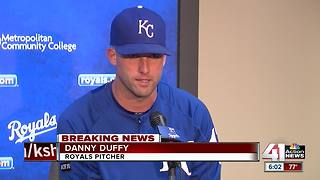 Royals pitcher Danny Duffy cited for DUI - Video