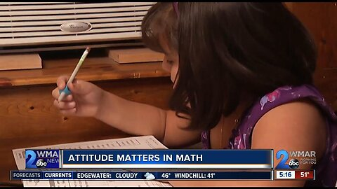 Attitude matters in math, too