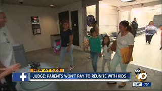 Migrant parents won't pay to be reunited with kids - Video