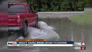 Heavy rain in Lehigh Acres - Video