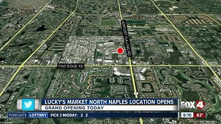 Lucky's Market to open Wednesday in Naples