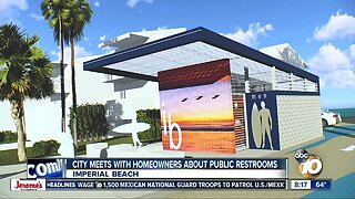 Imperial Beach meets with homeowners about public restrooms