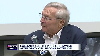 Funeral arrangements announced for Oakland County Executive L. Brooks Patterson