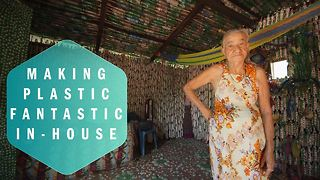 The bottle house: They said she was crazy - Video