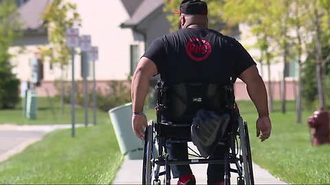 Local man paralyzed after shooting now representing USA in paralympics