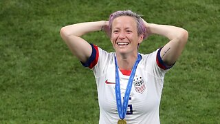 Megan Rapinoe comments on FIFA president being booed at World Cup