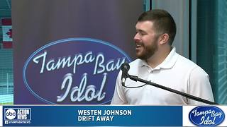 Tampa Bay Idol Audition: Westen Johnson - Video