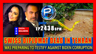 EP 2438-6PM Swiss Diplomat Who Was Preparing To Testify Against Biden Found Dead In Tehran