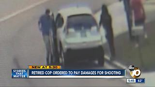 REtired cop ordered to pay damages for shooting - Video
