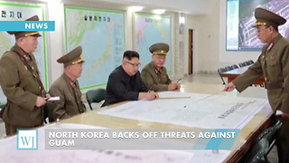 North Korea Backs Off Threats Against Guam - Video