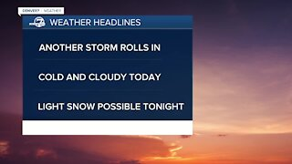 Monday morning weather update