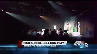 High school bullying play