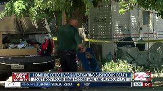 KCSO homicide detectives investigating suspicious death in Oildale - Video