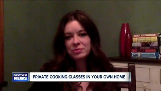 Private cooking classes in your own home over Skype