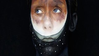 Artist's Incredible Body Paintings Capture The Weight of Mental Health Issues