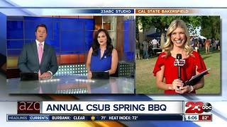 Live weather at CSUB Spring BBQ - Video