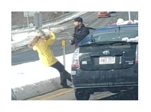 Man Pushes Woman to the Ground in Alleged Road Rage Incident in New Hampshire