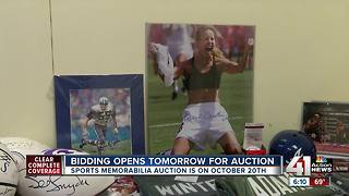 Autographed memorabilia to be auctioned off in KC to benefit Special Olympics - Video