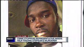 Crime Stoppers representative needs help finding stepson's murderer - Video
