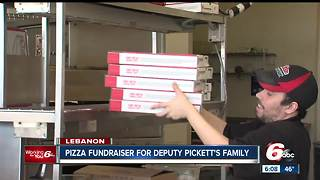 Pizza fundraiser raises money for Deputy Pickett's family - Video