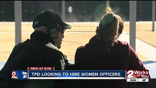 TPD looking to hire women officers
