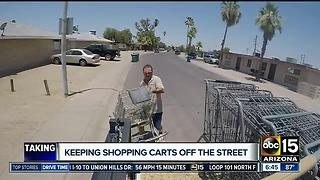 Phoenix looking to double price on stray shopping carts - Video