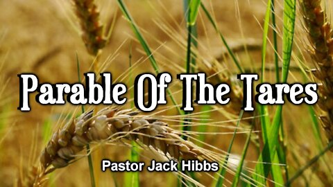 Parable Of The Tares