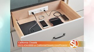 California Closets offers a variety of home office furniture