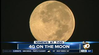 4G network on the moon? - Video