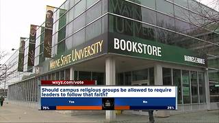 Christian student group sues Wayne State University over loss of status - Video