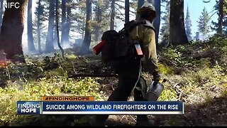 Suicide among wildland firefighters continues to climb