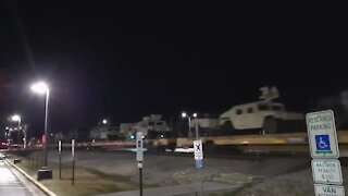 Huge Convoy of Military Vehicles Preparing for the Worst
