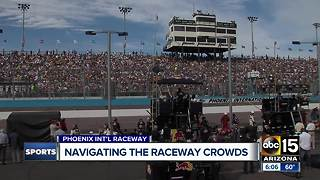 NASCAR takes over Phoenix on Sunday - Video