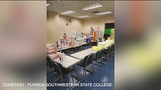 Florida Southwestern State College lends medical equipment to Lee Health