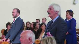 Flash Mob Beautifully Takes Over Irish Wedding Ceremony - Video
