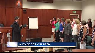 23 volunteers sworn in as Court Appointed Special Advocates for children