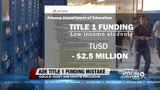 Arizona Department of Education Title I funding error - Video