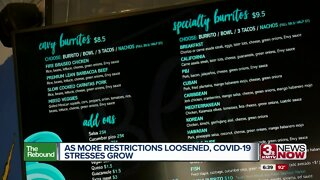 As more restrictions loosened, COVID-19 stresses grow